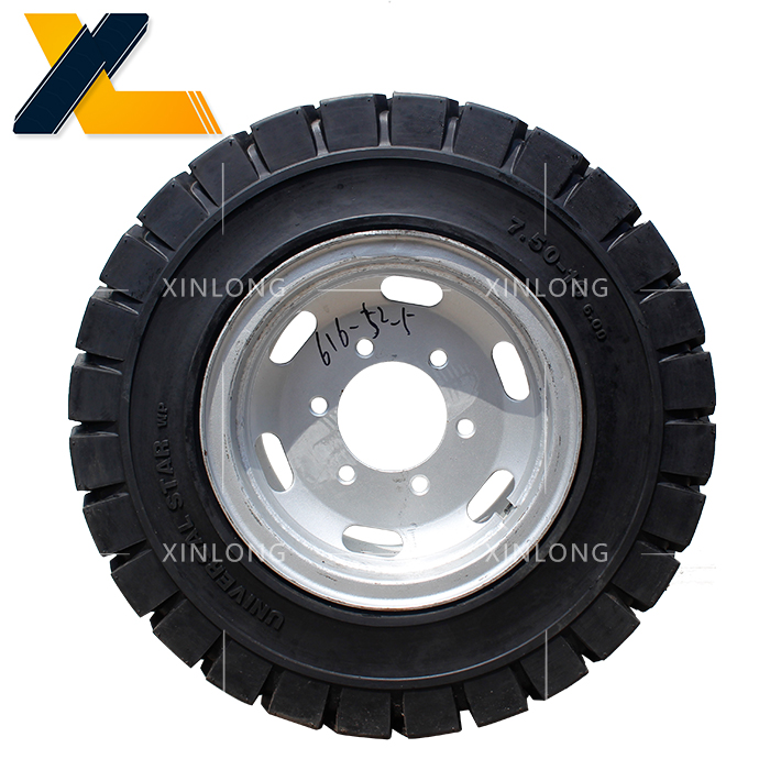 港口、冶金、矿山用实心轮胎