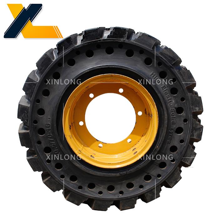小装载机及滑移铲用实心轮胎